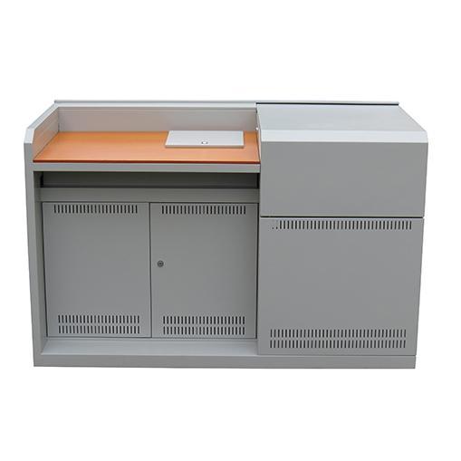 钢木结构讲桌(木讲台)