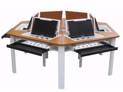 节能型新一代六角形电脑台